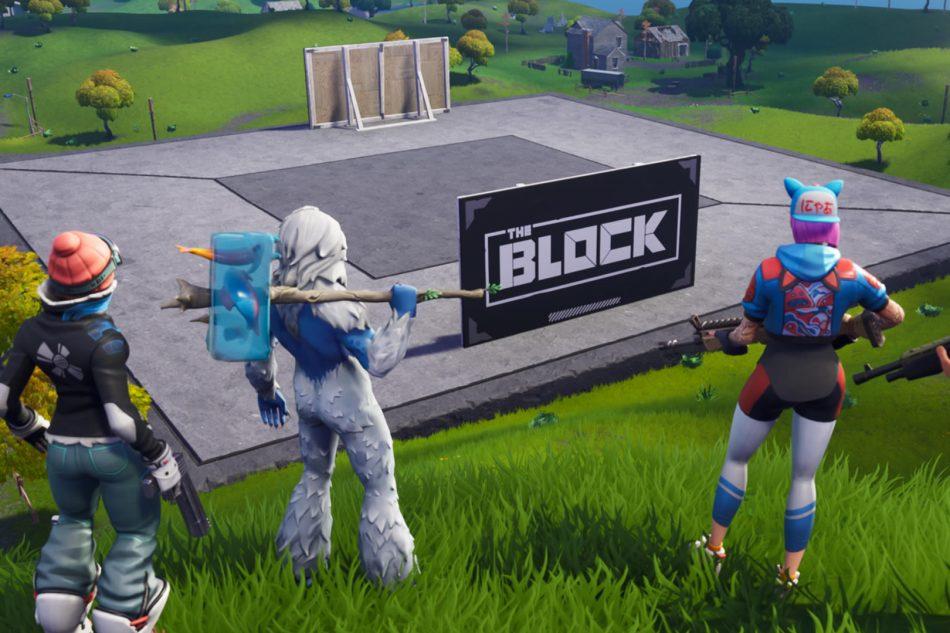 The Fortnite Block