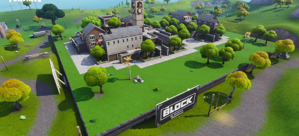 Fortnite Market Town at The Block