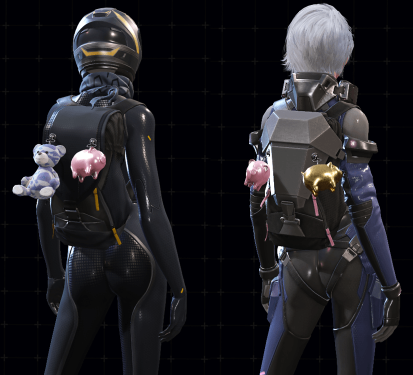 RoE Characters With Accessories