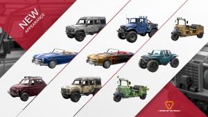 RoE New Vehicle Skins