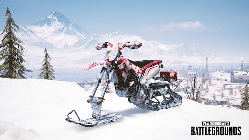 PUBG Snow Bike