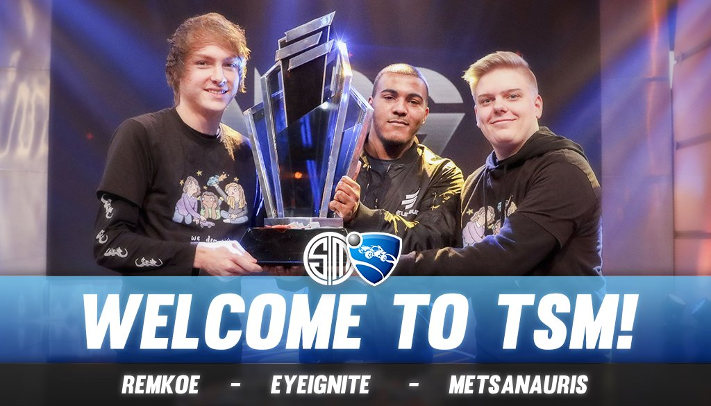 TSM Rocket League Team