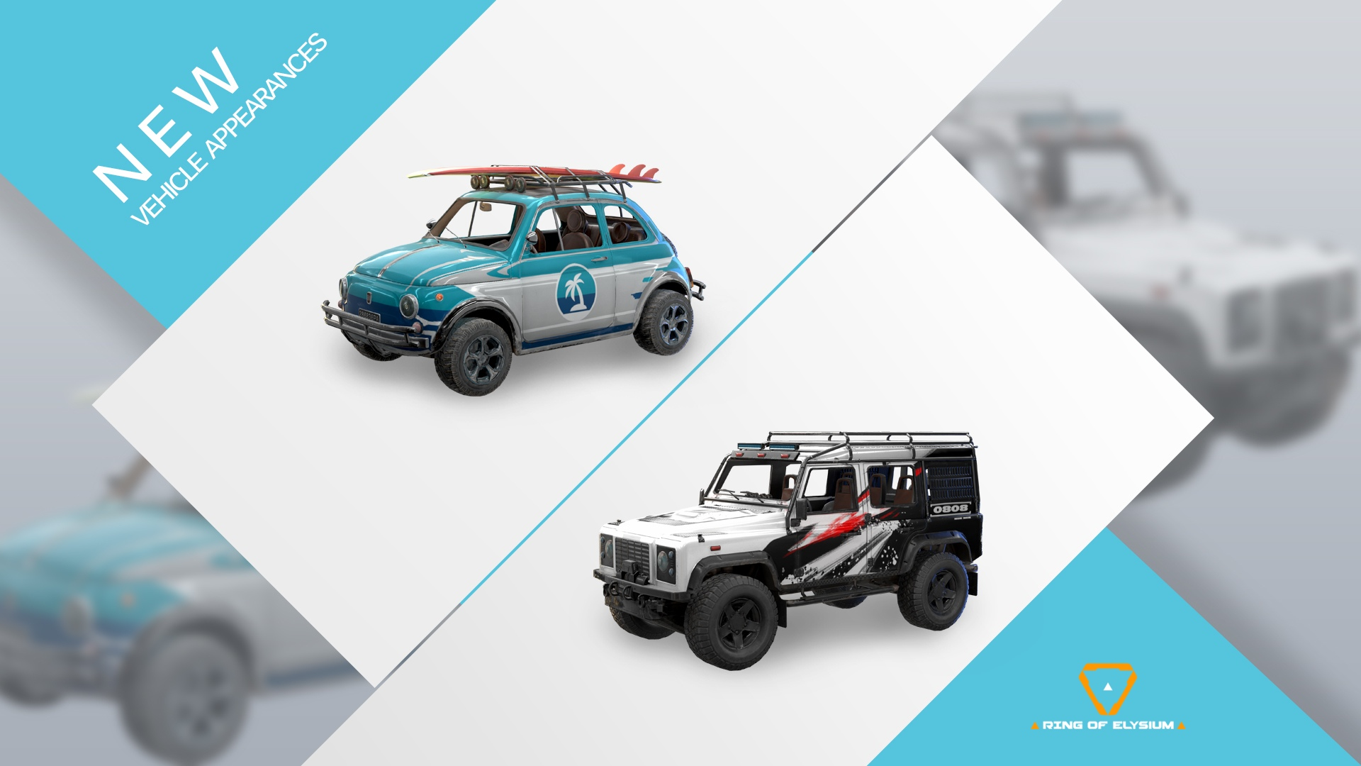 Ring of Elysium Tropical Vehicles