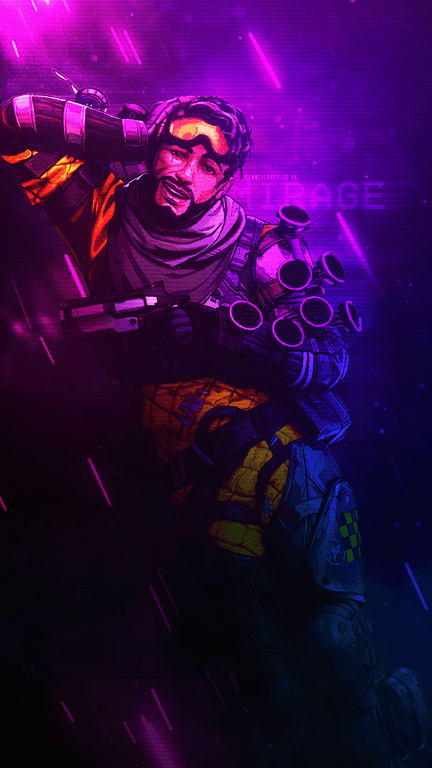 Apex Legends Mirage Mobile Wallpaper