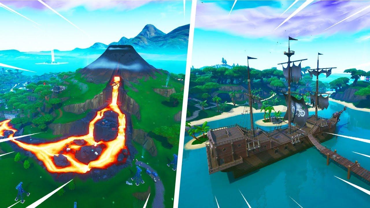 New Volcano & Lazy Lagoon