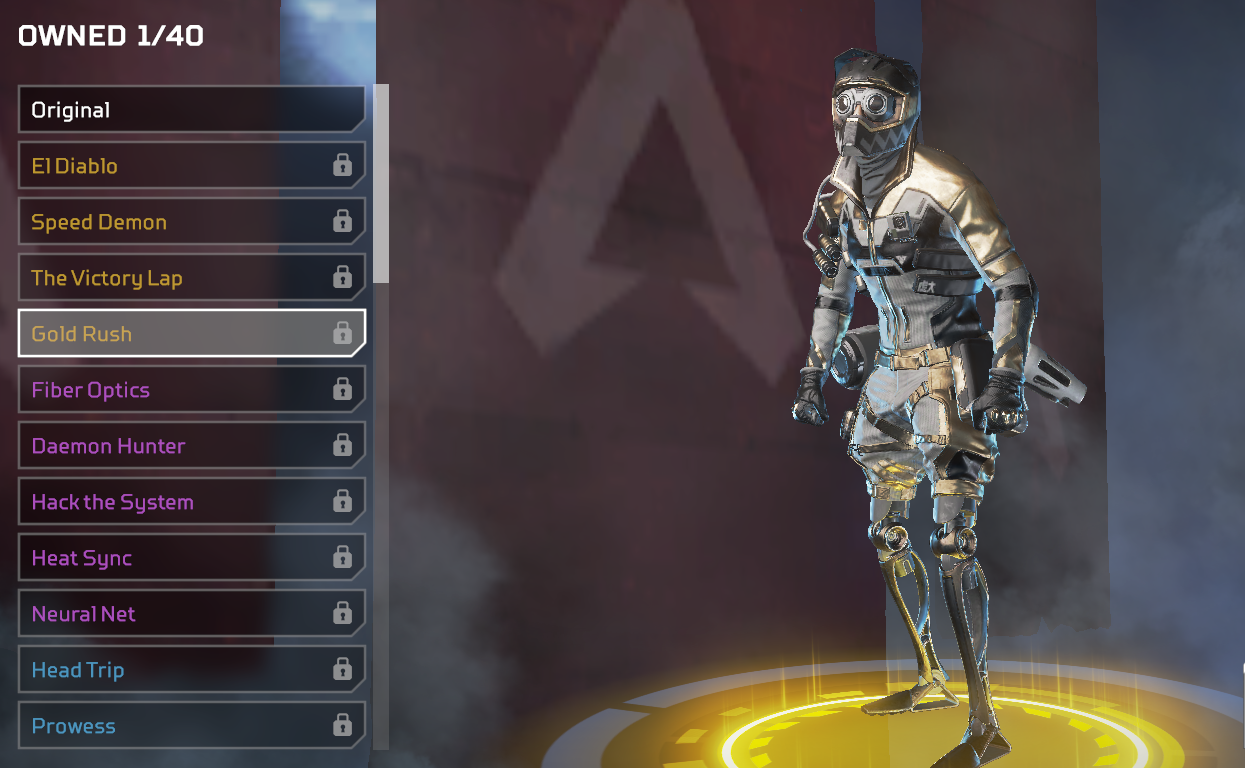 Every Octane Skin in Apex Legends