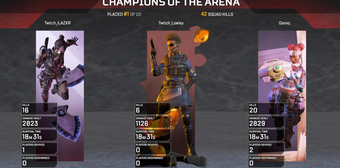 Apex Legends PC Record
