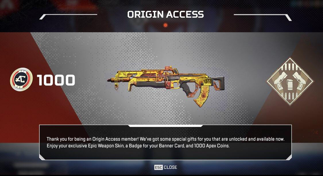 Unlock Origins Access Pack for Free - Launch Options Glitch
