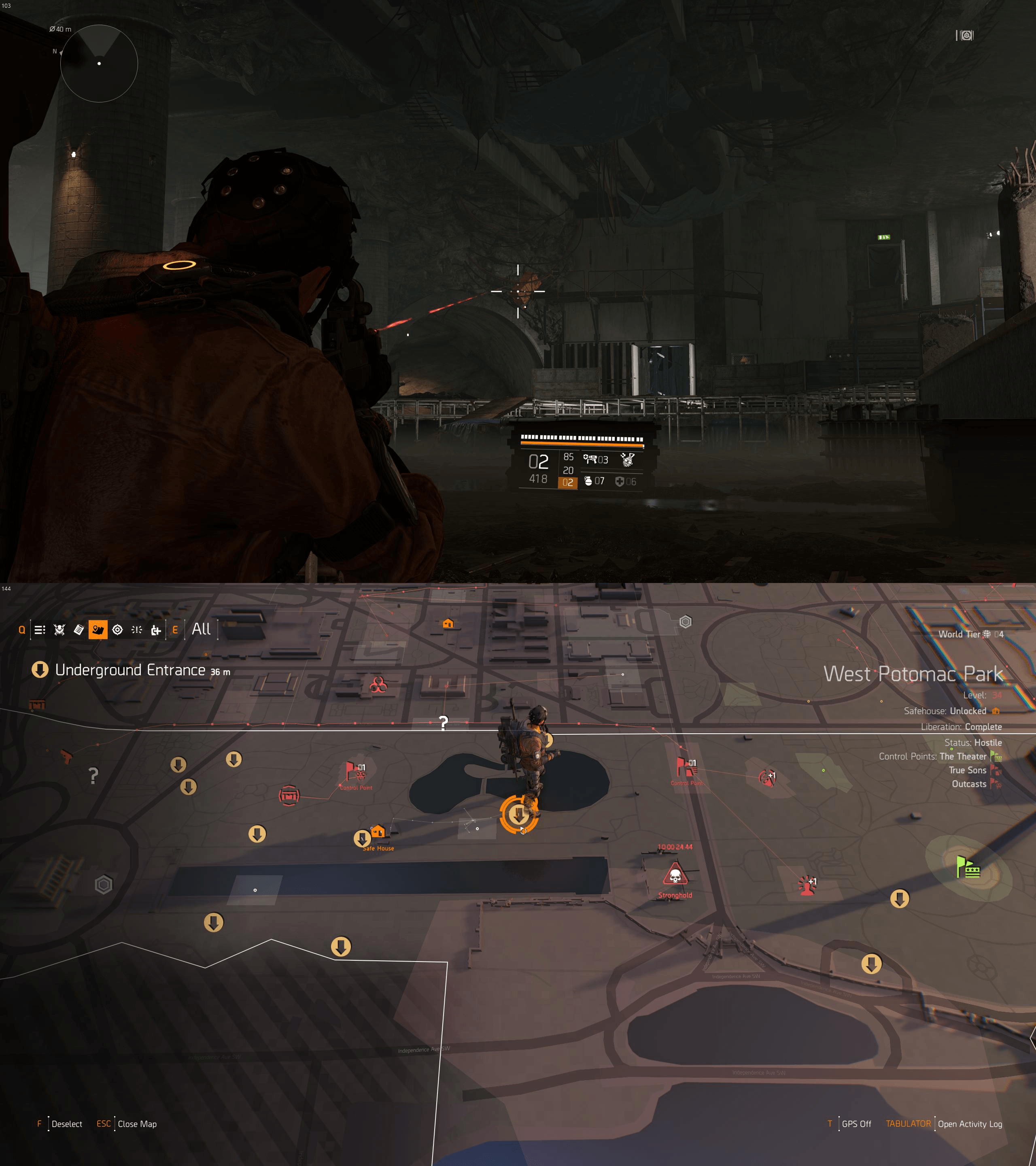 The Division 2 Orange Dye Crate Locations
