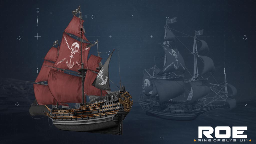 Ring of Elysium Season 3 Pirate Ship