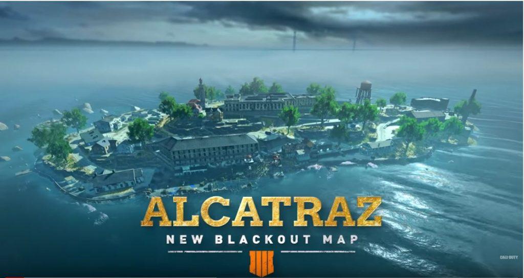 Alcatraz New Blackout Map