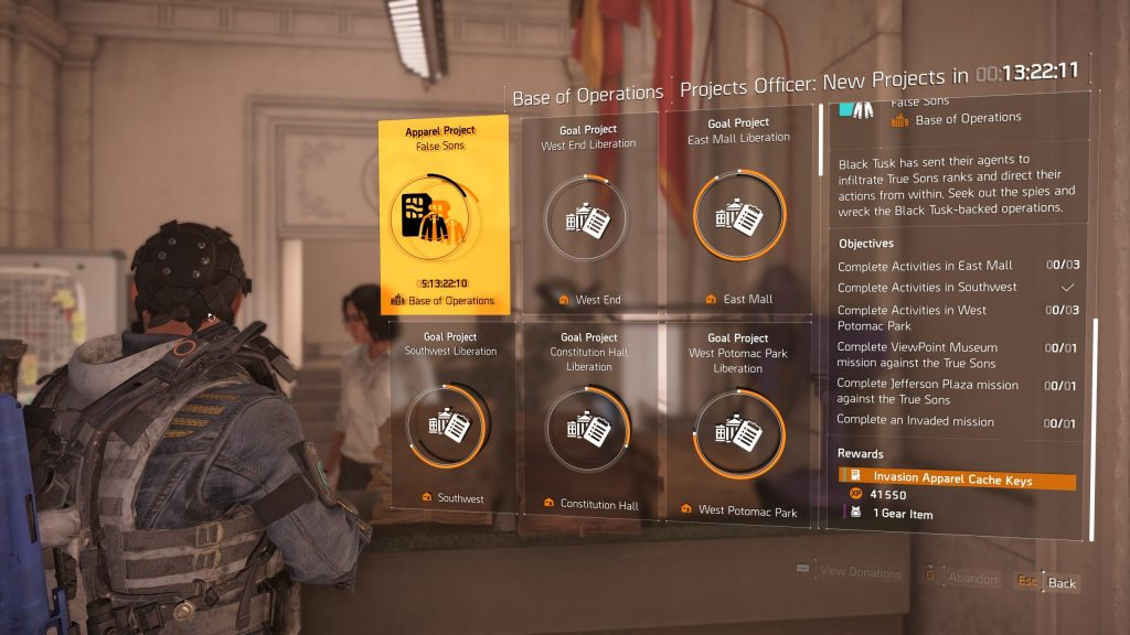 The Division 2 Patch Notes - April 11, 2019 Update (Community Update)