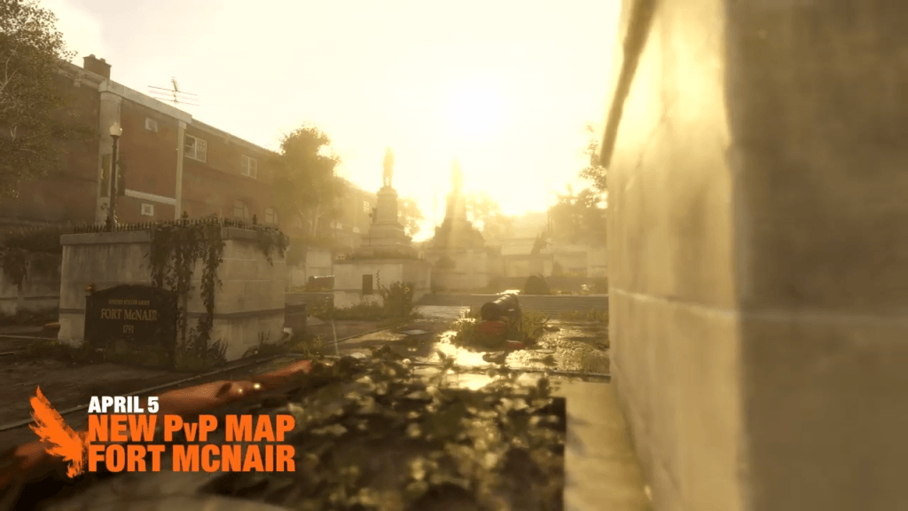 Fort McNair The Division 2 PvP Map