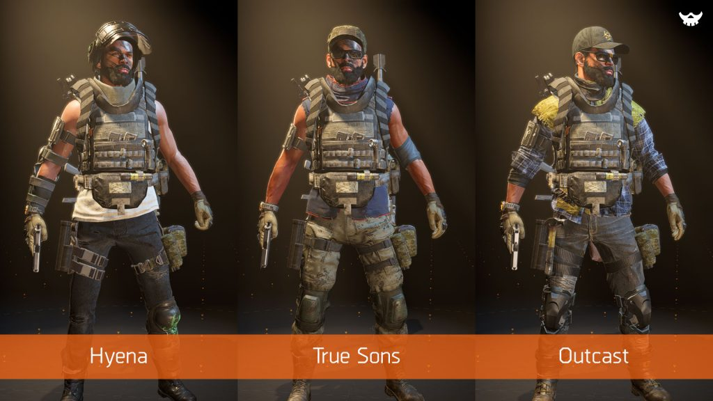 The Division 2 Apparel Event - Clothing Items