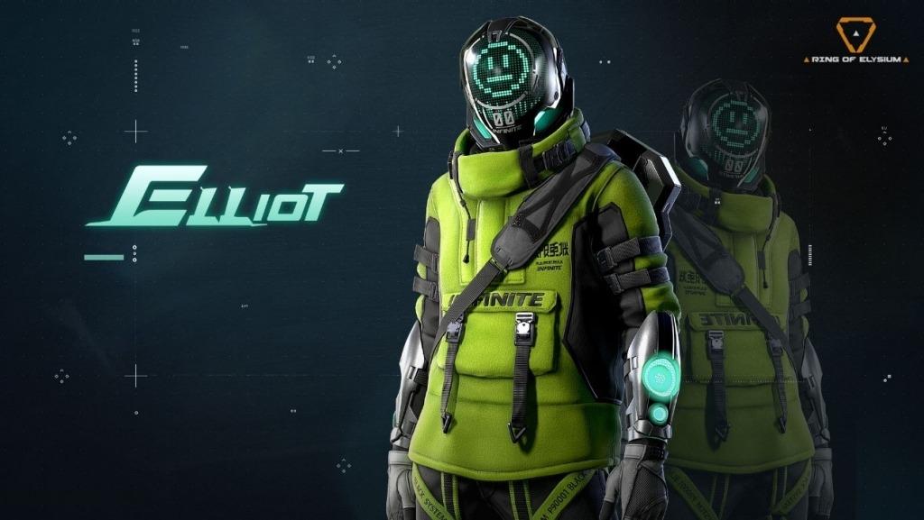 Elliot Neon Green Skin