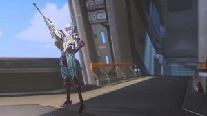 Overwatch Anniversary Skin - Widow