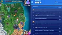 Fortnite Season 9 Challenges Cheat Sheet