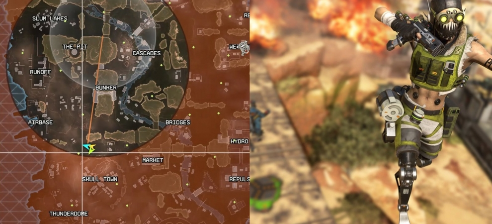 Apex Legends Circle Damage Update