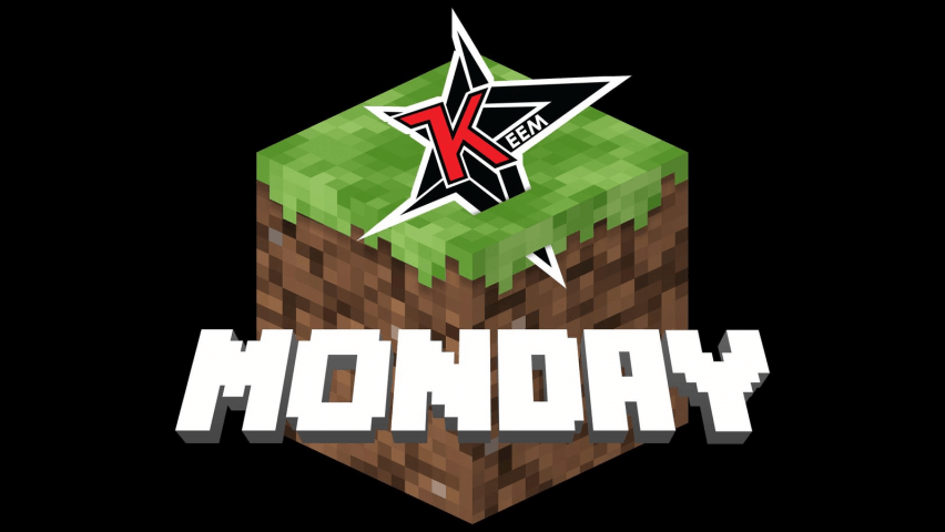 Minecraft Monday Logo
