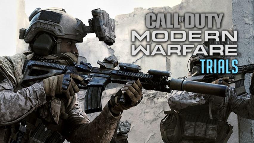 Modern Warfare Trials Cover