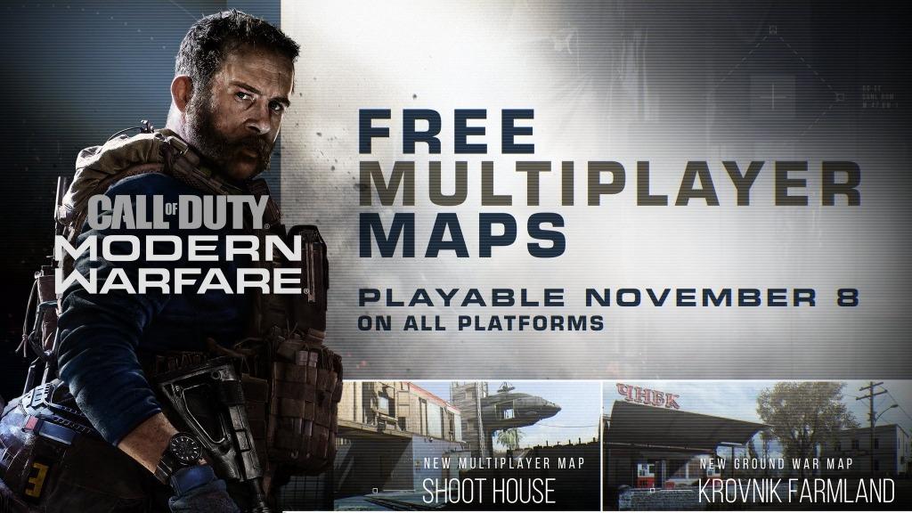 Free Modern Warfare Maps Shoothouse & Krovnik Farmland
