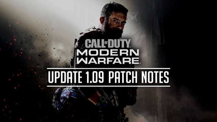 Modern Warfare Patch 1.09 Patch Notes