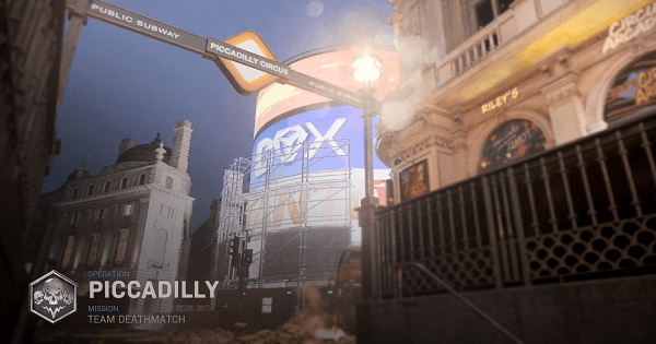 Piccadilly Map Preview