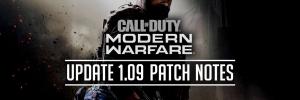 Modern Warfare Patch 1.09 Patch Notes