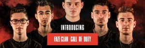 FaZe 5v5 Call of Duty Roster