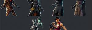 Fortnite Halloween 2018 Leaked Skins